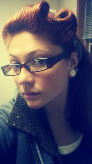 Feeling pin curls :)
