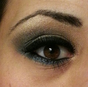 Super smokey eye I did for a night out in Atlantic City.
