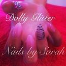 Pink & zebra nails