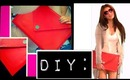 StyleScoop - (Gift Idea) DIY No Sewing Oversized Envelope Clutch