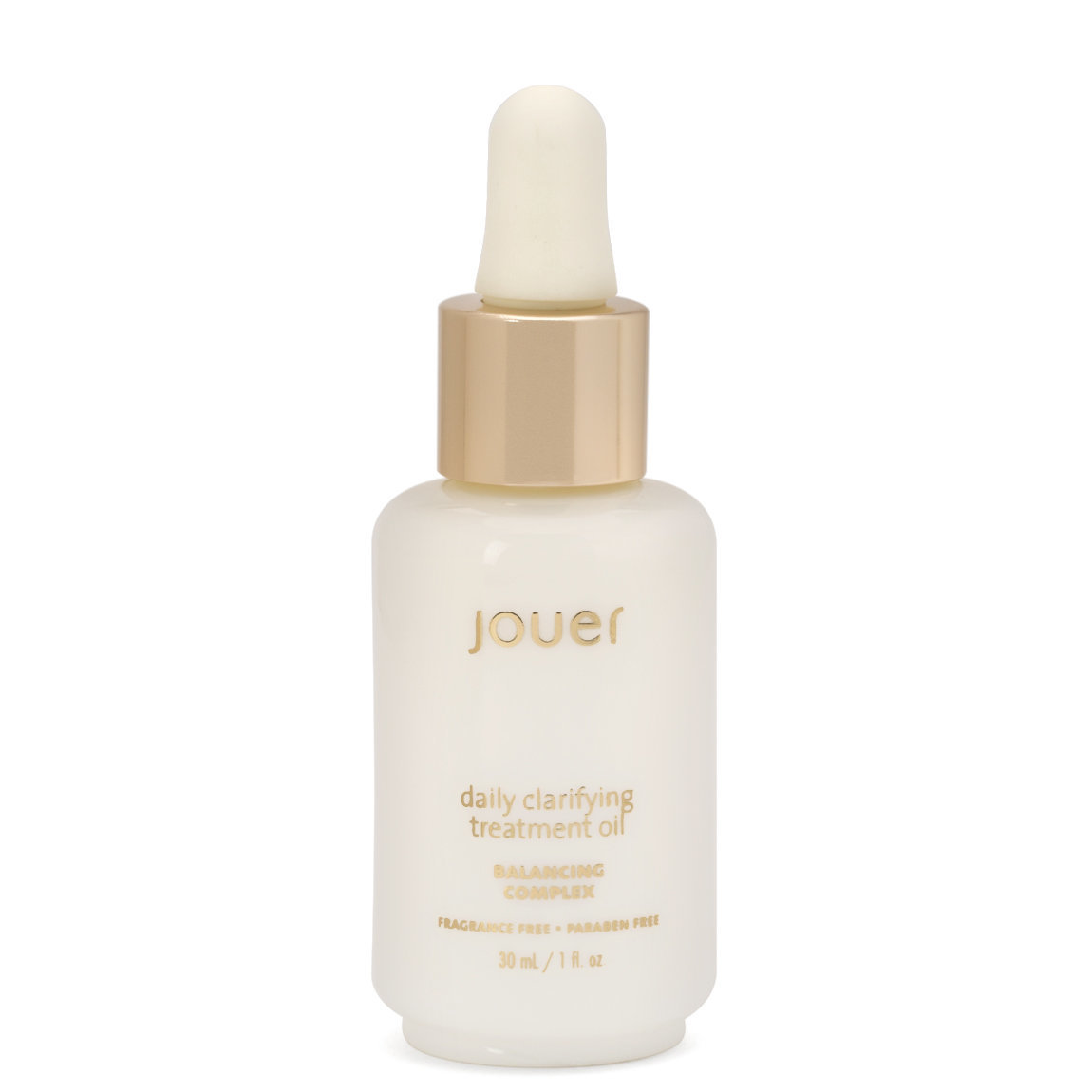 Jouer Cosmetics Daily Clarifying Treatment Oil product smear.