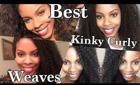 Top Kinky Curly Weaves of 2015