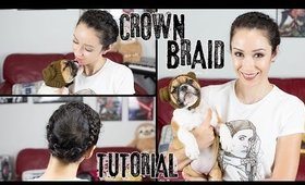 Princess Leia Hoth Crown Braid Tutorial