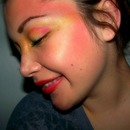 Girl On Fire look.