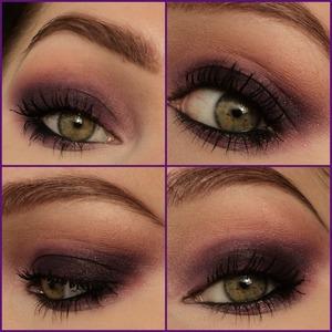 No falsies or winged liner, just a simple look for everyday using sleek eyeshadows. http://instagram.com/makeupbyeline/
