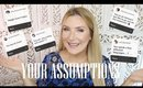 ASSUMPTIONS TAG: I ANSWER YOUR ASSUMPTIONS ABOUT ME