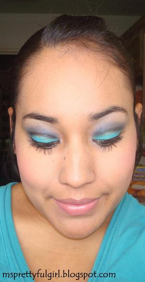 """Blue Had Me At Hello"" http://msprettyfulgirl.blogspot.com/2011/06/fotd-blue-had-me-at-hello.html"