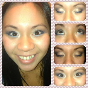 Some makeup I did while we were bored