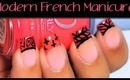 How To: Modern French Tip Manicure Tutorial