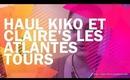 Haul Kiko et Claire's (Les Atlantes/Tours) / Miss Coquelicot
