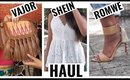FASHION HAUL & TRY-ON | VAJOR - SHEIN - ROMWE | Stacey Castanha