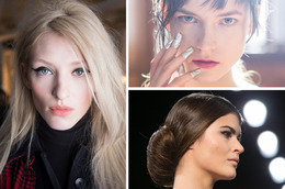NYFW Fall 2014 Beauty Recap
