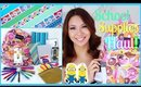 Back to School Supplies Haul + Giveaway!!