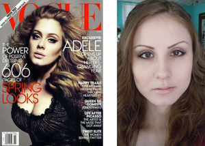 Adele Vogue Inspired Look