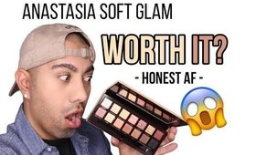 NEW ANASTASIA SOFT GLAM PALETTE- REVIEW- WORTH IT?