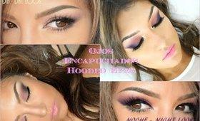 Ojos Encapuchados (Hooded Eyes) DIA y NOCHE look