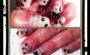 Kitty Loves Newspaper Nail Art Design