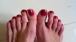 Revlon ' teak rose' nail polish.