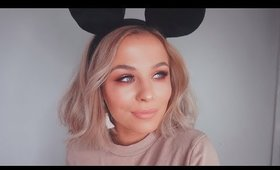 Soft Glam Makeup Tutorial / Spectrum x Disney Mickey Mouse Collection