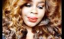 Makeup Tutorial: Mac Amber Light & Ruby Woo.
