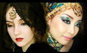 Arabic Makeup - Collaboration with KlairedelysArt