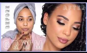GRWM | CATFISH MAKEUP | TWO LOOKS IN ONE VIDEO | ASHLEY BOND BEAUTY