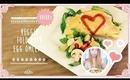 Veggie Fold Over Omelette Low Calorie Diet Recipe | Great Breakfast Idea!