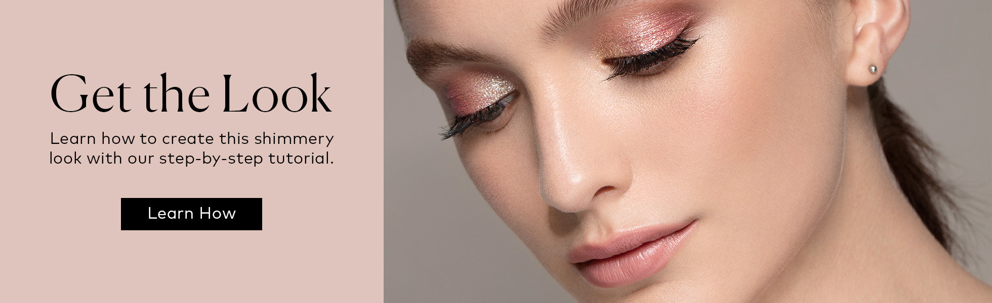 See our tutorial to learn how to create this look using the Stila Iridescent Glitter & Glow Liquid Eye Shadow Set