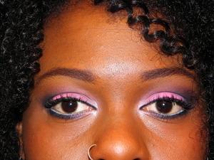 Pink Smokey using Inglot and Mac Eyeshadows.