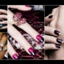 french multicolor manicure