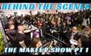 Behind the Scenes @themakeupshow SF w Social Media Correspondent Mathias Alan pt. 1- mathias4makeup