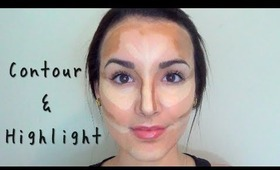 Contouring & Highlighting: How to get the Kim Kardashian Definition