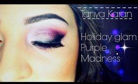 Holiday GLAM - Purple Madness - Make-up