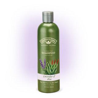 Nature's Gate Lavender and Aloe Nourishing Shampoo