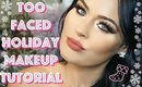 TOO FACED BOSS LADY PALETTE TUTORIAL! HOLIDAY MAKEUP TUTORIAL 2017
