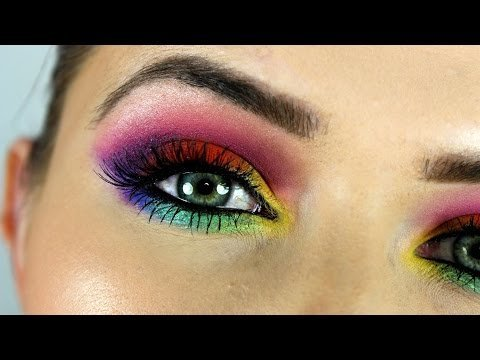 Eyes makeup video