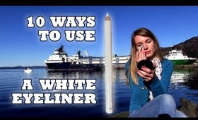 10 Ways to use a White Eyeliner! How to Brighten Your Eyes and Face with a White Eyeliner!