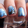 Floral Water Marble!