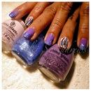 Purple Melt / Stripes