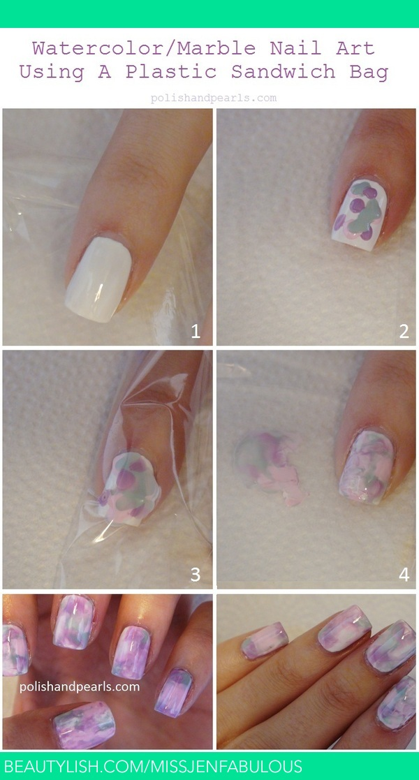 How To: Waterless Water Marble | MissJenFabulous F.\'s ...
