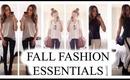 My 10 Fall Fashion Essentials!