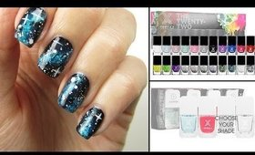Easiest Galaxy Nails