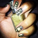 BarryM crack effect nail varnish