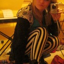 Stripey jeans!