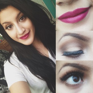 just a girl taking advantage of her day off and playing with her makeup. :)