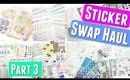 HUGE Unboxing Etsy Sticker Swap Haul: Part 3