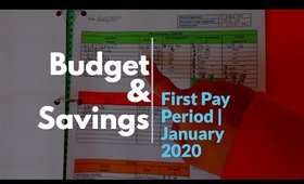 Budgeting & Savings | First pay period in January 2020