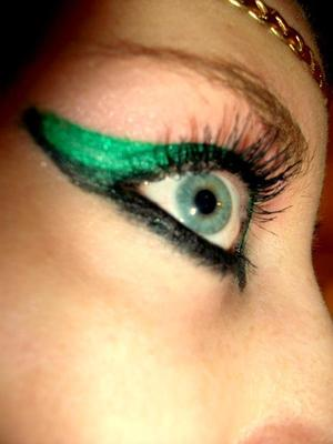 Shamrock green.