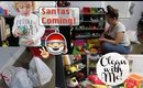 CLEAN WITH ME Toy Cleaning/Purging Christmas Prep SAHM
