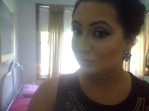 Makeup I would team for an upstyle.. extreme contouring